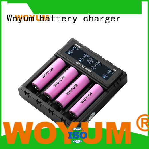 Woyum New smart battery charger manufacturers for Ni-MH