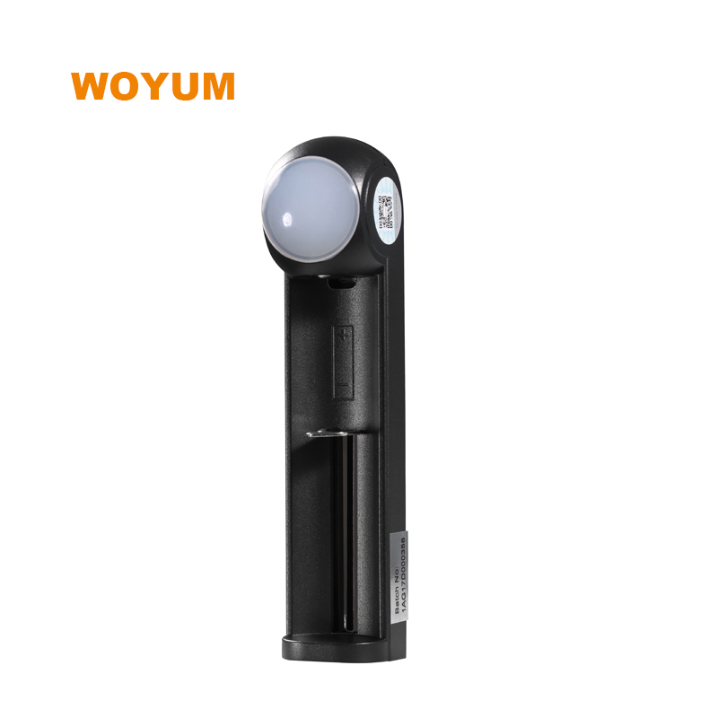 WOYUM ZK1A USB Intelligent Battery Charger 1 slot for Li-ion / IMR / Ni-MH/ Ni-Cd
