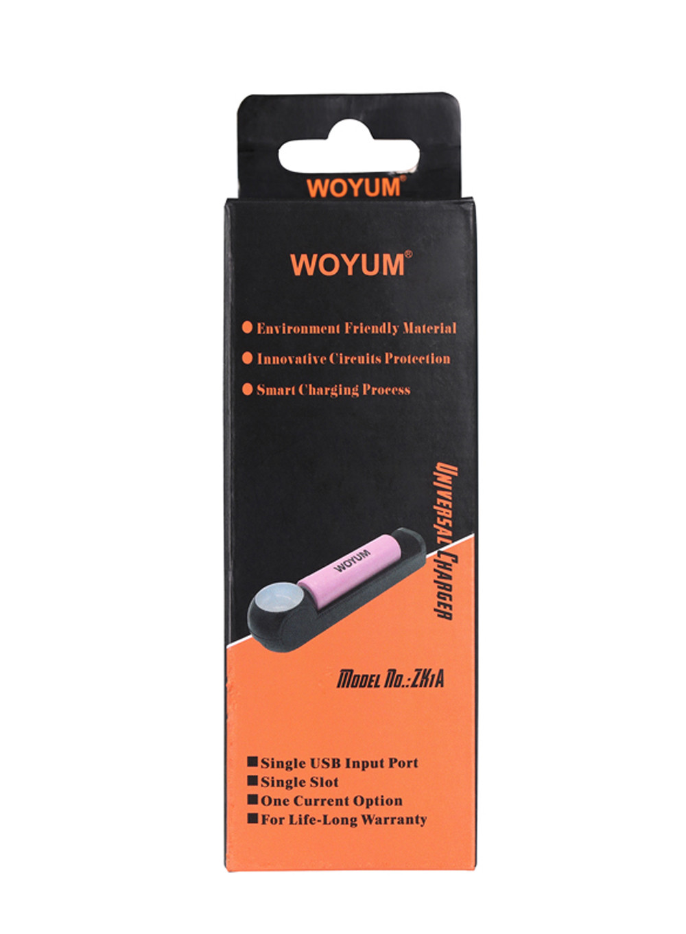 Woyum -Woyum Zk1a Usb Intelligent Auto Battery Charger 1 Slot-6