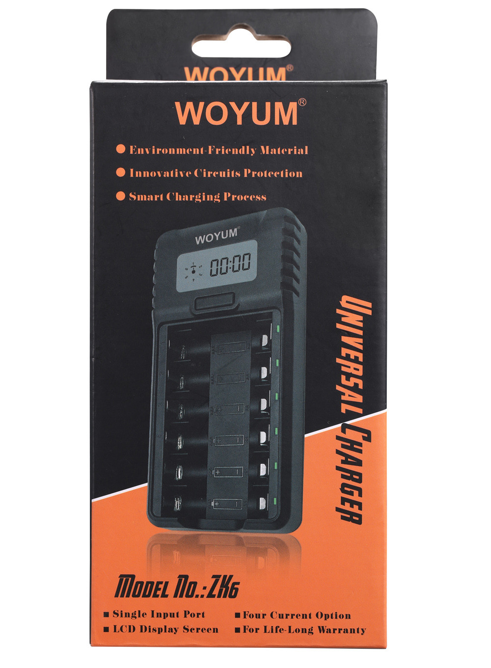 Woyum Custom smart battery charger factory for Ni-MH-7