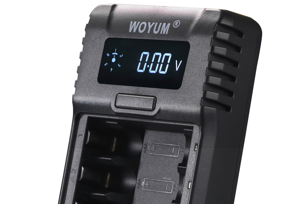 Woyum Custom smart battery charger factory for Ni-MH