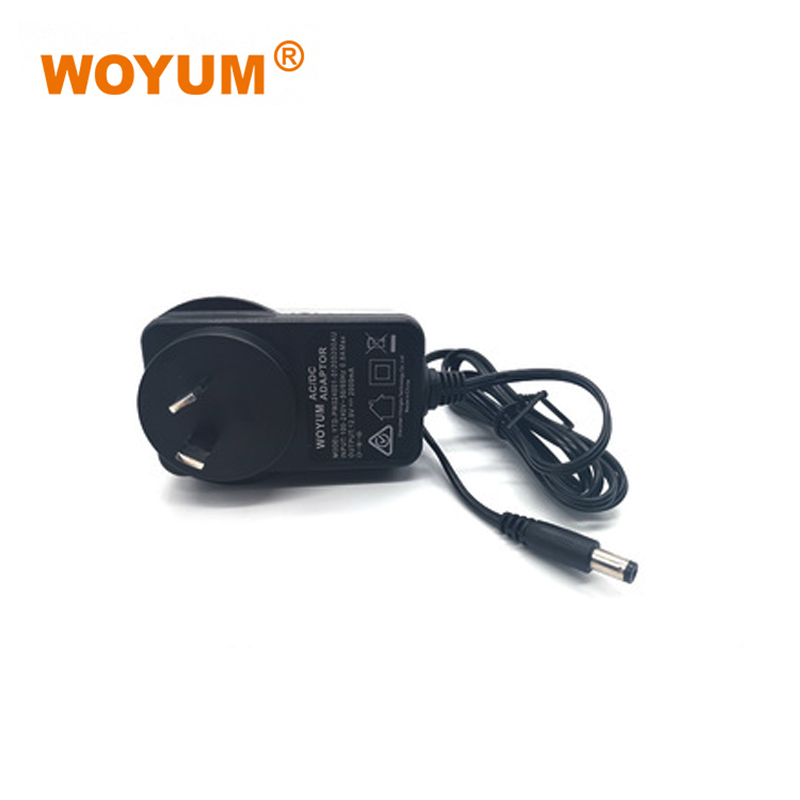 WOYUM DC 12V 2A Power Supply Adapter, AC 100-240V to DC 12Volt Transformers, Switching Power Source Adaptor for 12V electronic devices and power tools, 24W Max, AU Plug