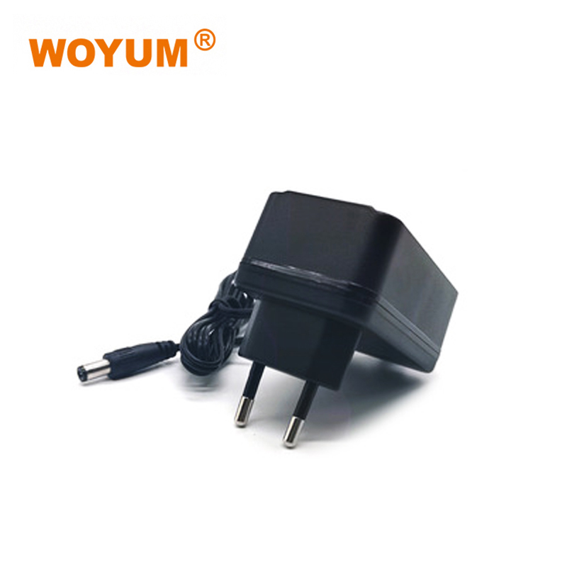 WOYUM DC 12V 1A Power Supply Adapter, AC 100-240V to DC 12Volt Transformers, Switching Power Source Adaptor for 12V electronic devices and power tools, 12W Max, EU Plug