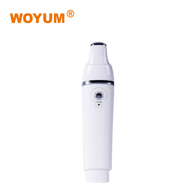 Multi-function Heated Sonic Eye Massager,Heated Anion Import Wand for Dark Circles and Puffiness,Skin Care Device,White SR-1506