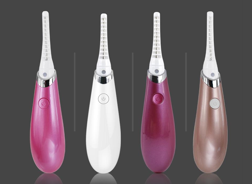 Woyum -Best Facial Device Electric Heated Eyelash Curler Eye Lashes Curling Tool-4