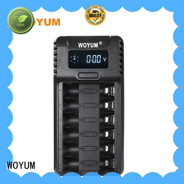 New best aa battery charger company for Li-ion