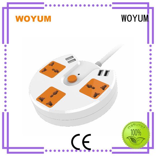 outdoor power strip ports fire-resistance Woyum Brand usb power strip