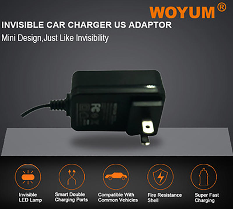 Woyum -Best Power Plug Adapter Woyum Dc 12v 1a Power Supply Adapter, Ac 100-240v