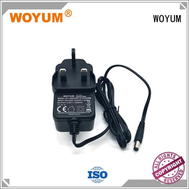 Custom uk adapter power adaptor Woyum plug