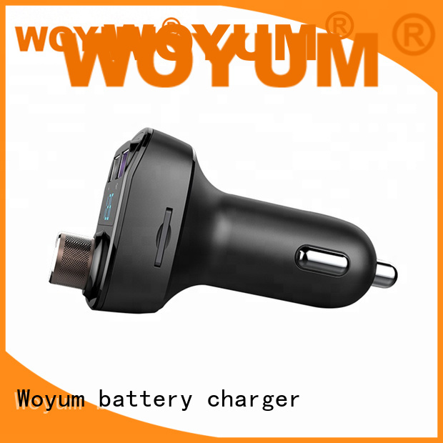 Woyum professional multi port usb car charger supplier for Apple Devices