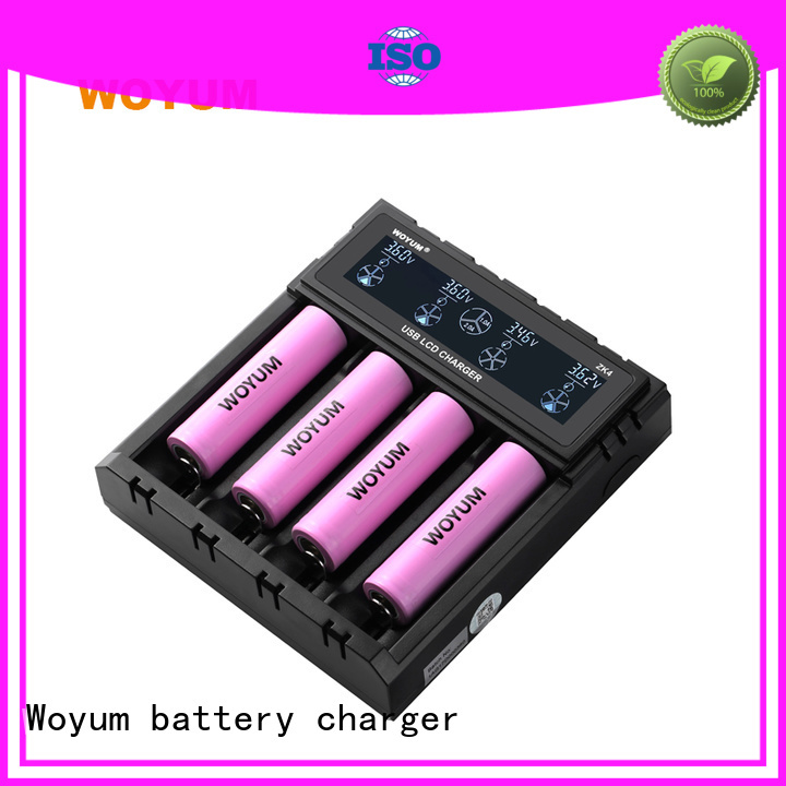 Woyum top battery chargers supplier for IMR