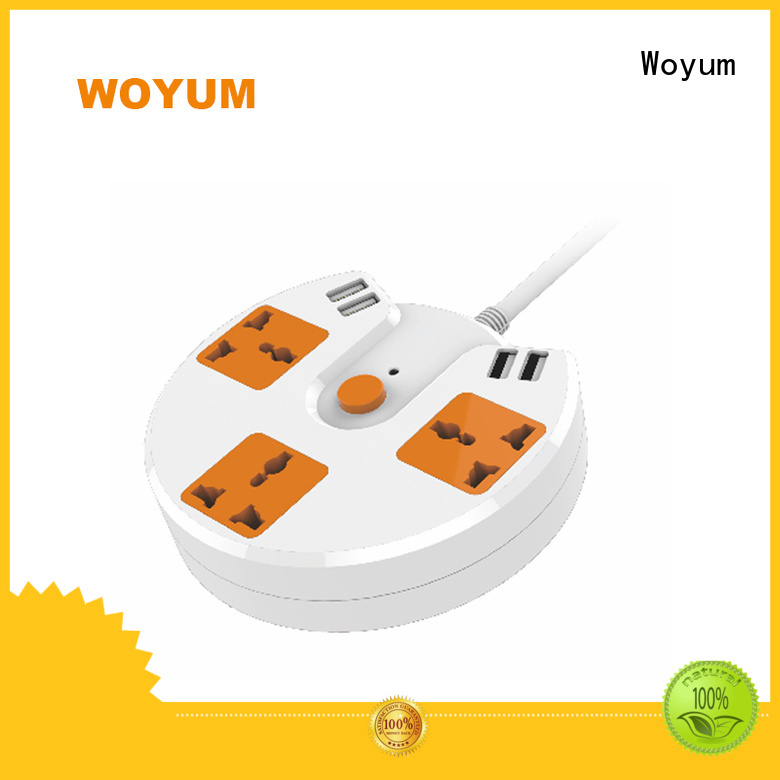 Multi-outlet Safe appliance ports usb power strip Woyum