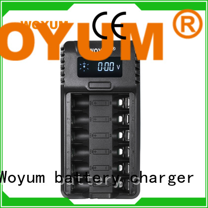 Woyum online smart battery charger wholesale for Li-ion