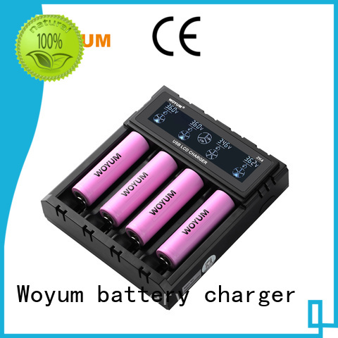 Woyum Brand aa smart lithium battery charger current
