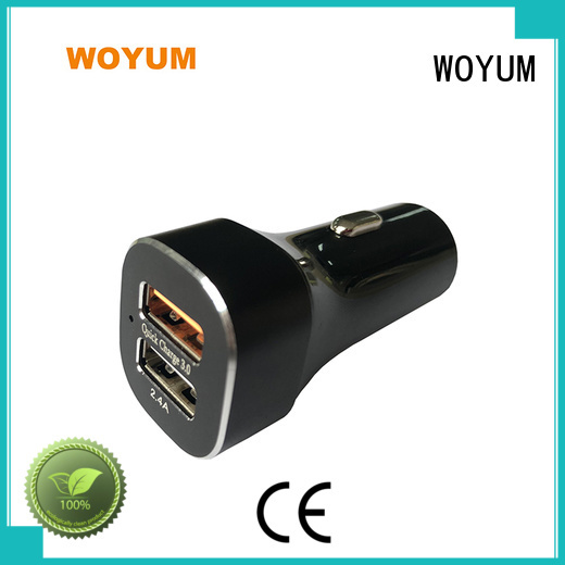 dualport best car battery charger plus devices Woyum Brand