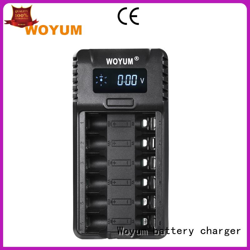 Woyum Brand lights charging custom lithium battery charger