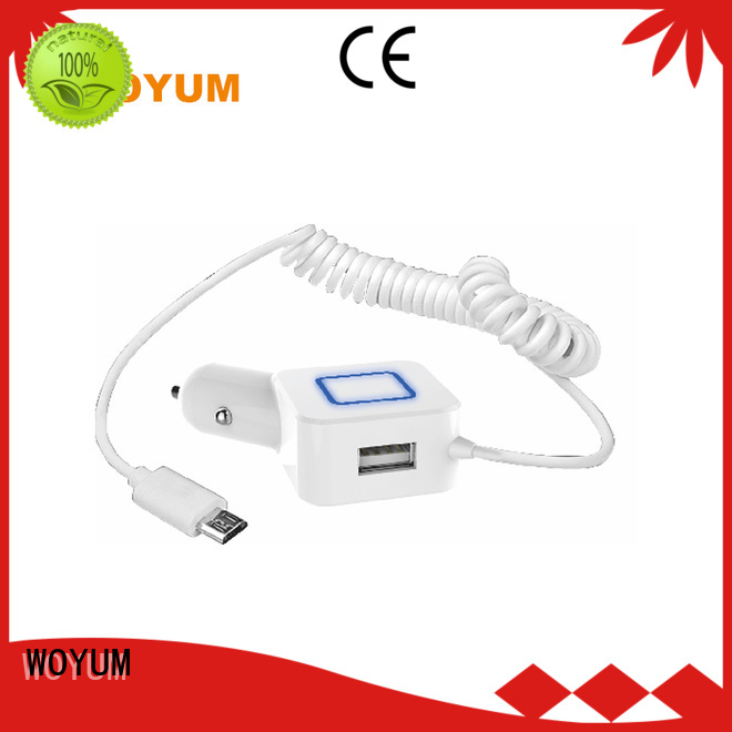 professional best car mobile charger series for car Woyum