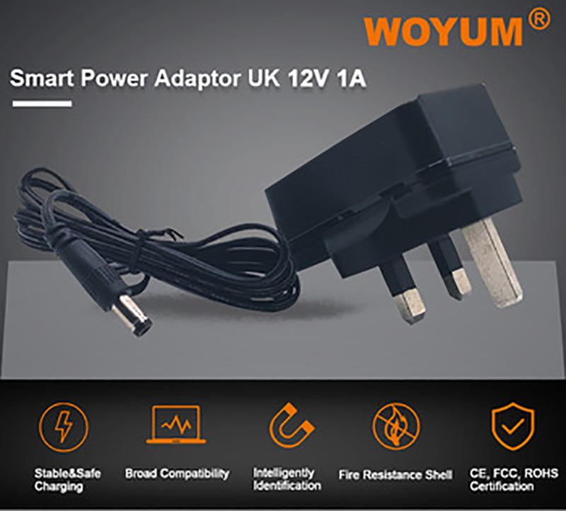 Woyum -Ac Adapters Woyum Dc 12v 1a Power Supply Adapter
