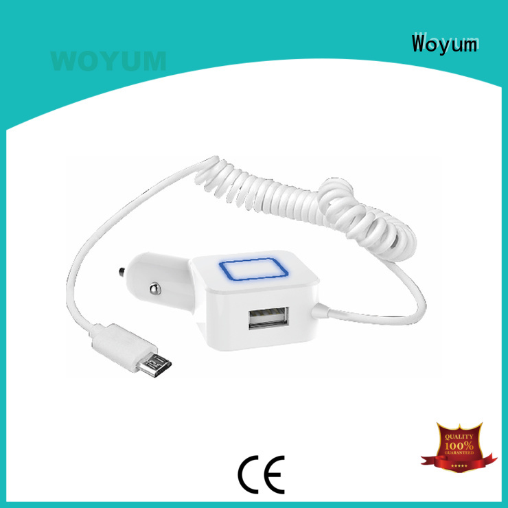 Wholesale card devices usb car charger Woyum Brand