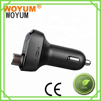 card voice dual usb car charger devices Woyum Brand