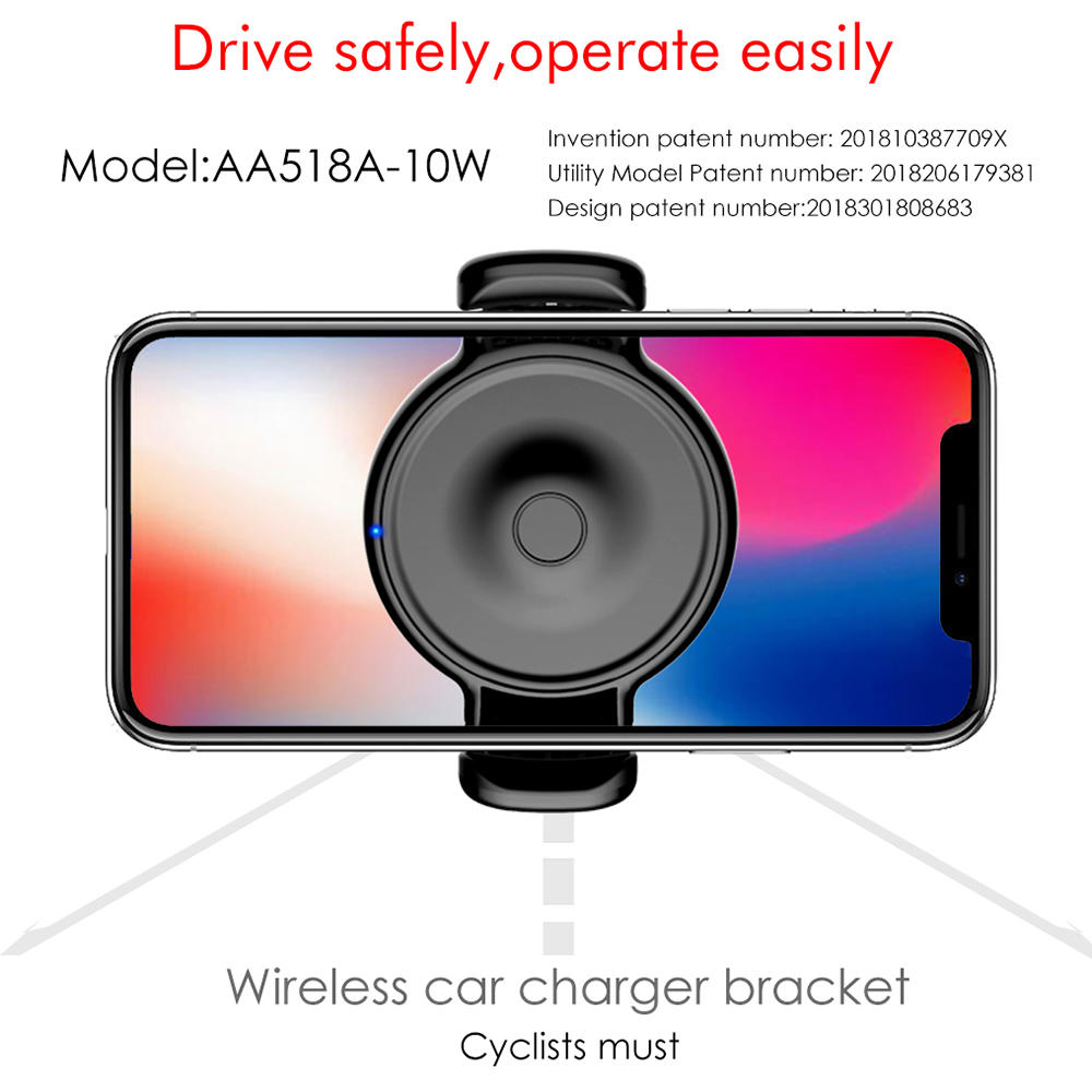 Woyum -Cell Phone Car Charger, Wireless Cell Phone Car Charger Air Vent Phone