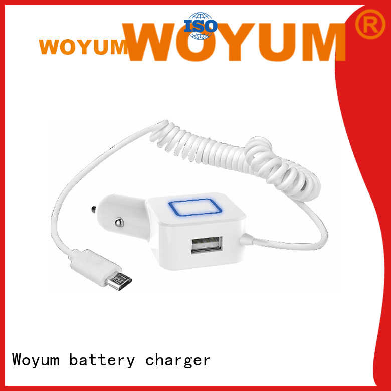 Woyum Wholesale usb car charger factory for car