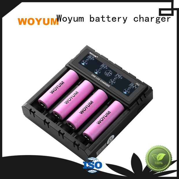 Woyum Latest best aa battery charger for business for Li-ion