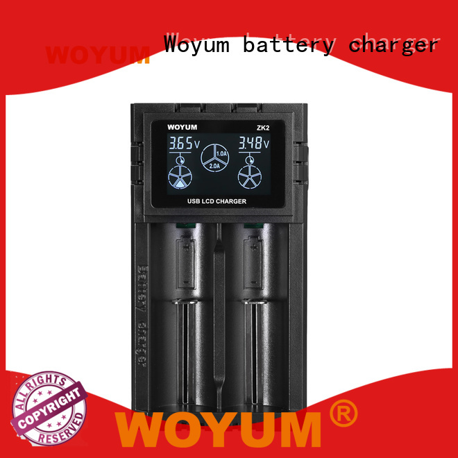 Woyum top battery chargers manufacturer for Ni-MH