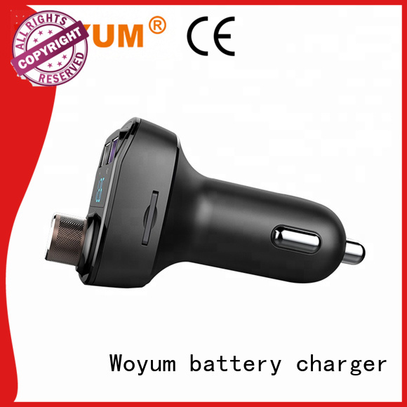 Woyum usb car charger wholesale for Apple Devices