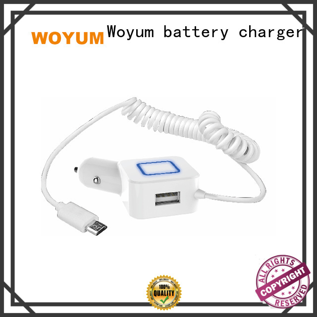 Woyum High-quality multi port usb car charger Suppliers for Android devices