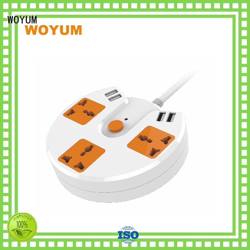 ports multifunction Safe Woyum Brand usb power strip supplier