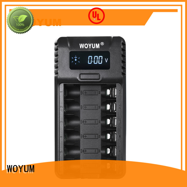 adaptor nimh auto battery charger lights usb Woyum company