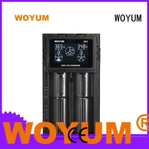 Woyum security best aa battery charger series for Li-ion