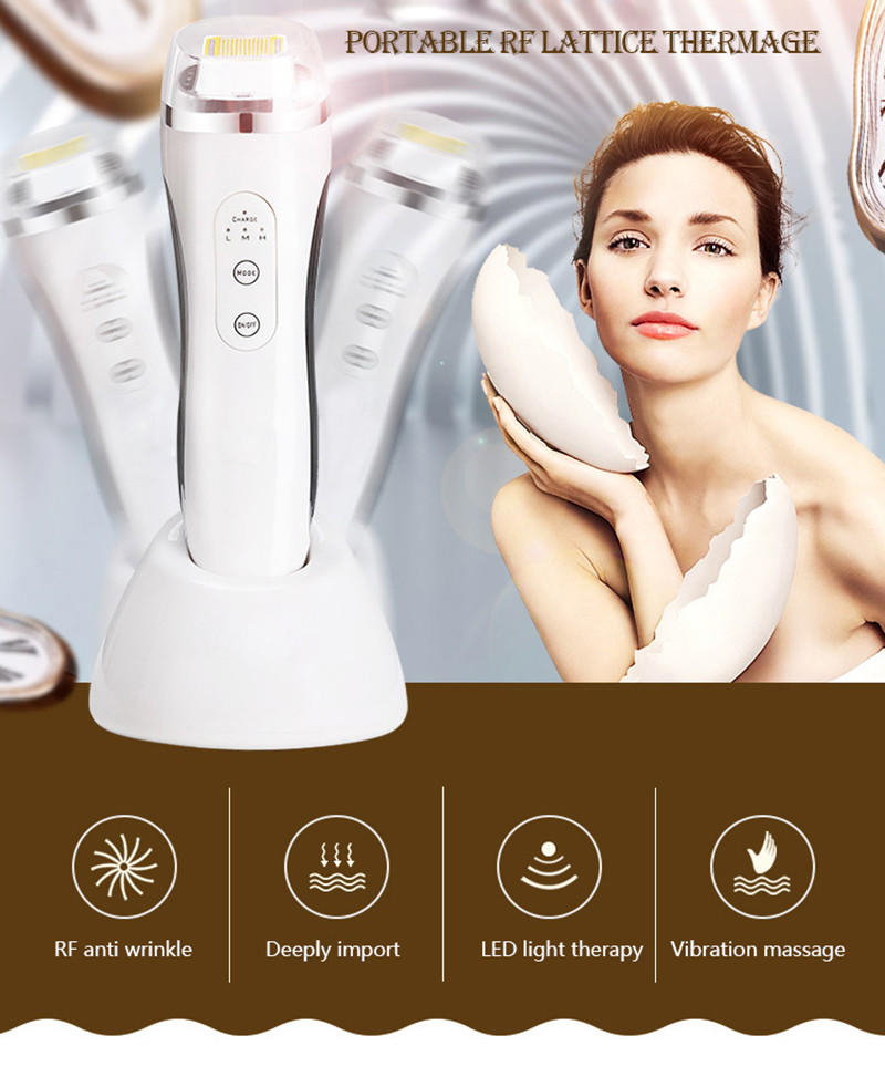 Woyum -Best Face Wash Brush Matrix Rf Thermage Beauty Device,portable Radio Frequency