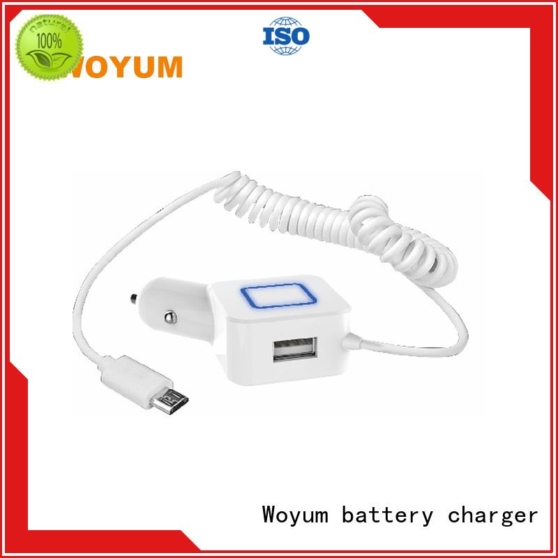 Woyum electrical multi port usb car charger series for car