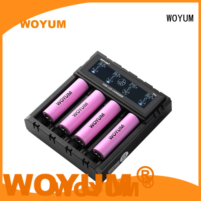 Woyum High-quality best aa battery charger Suppliers for Li-ion