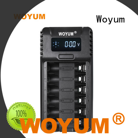Woyum online intelligent battery charger supplier for Ni-MH
