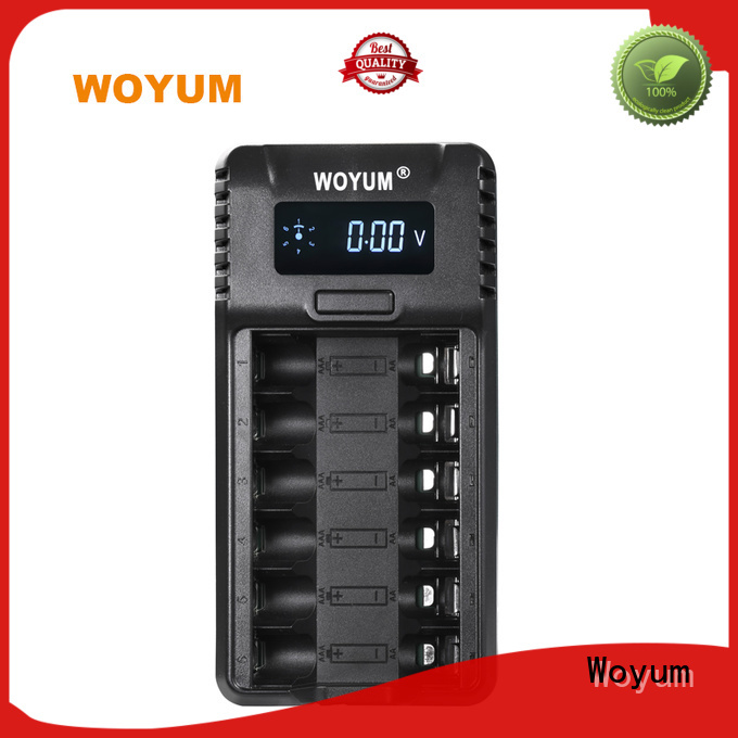Woyum intelligent battery charger supplier for Ni-Cd