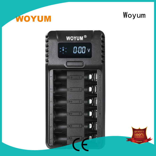 slot nicd universal auto battery charger nimh Woyum Brand