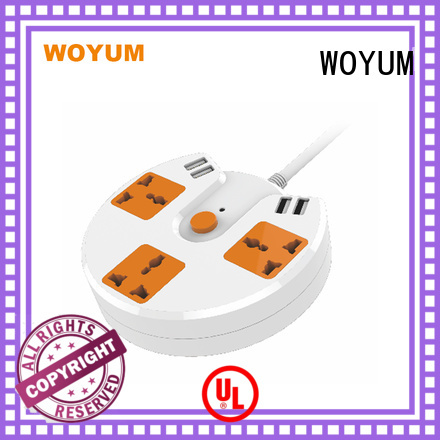 outdoor power strip Safe fire-resistance home Woyum Brand usb power strip