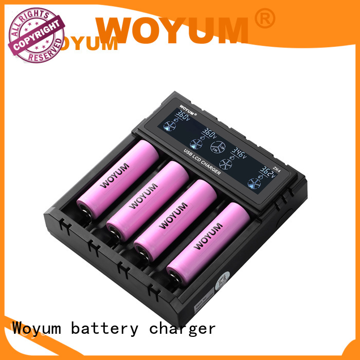 Woyum online intelligent battery charger manufacturer for Ni-MH