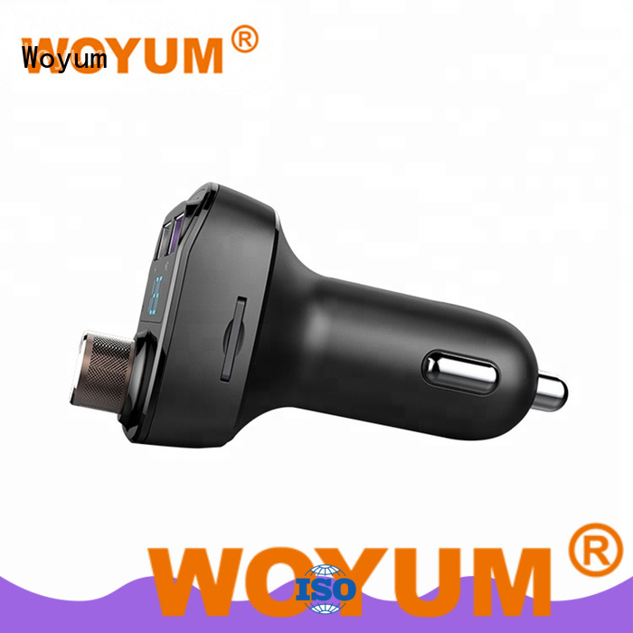 professional portable car charger fm supplier for Android devices