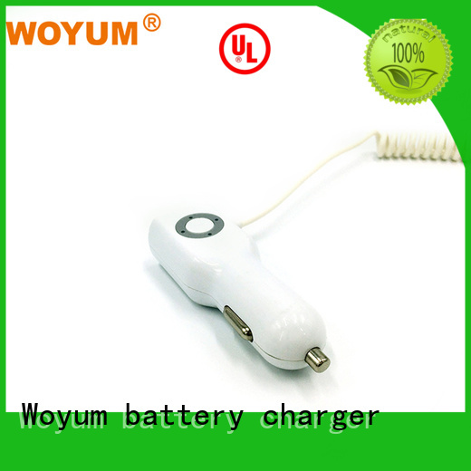 cable dualport navigation usb car charger Woyum Brand company