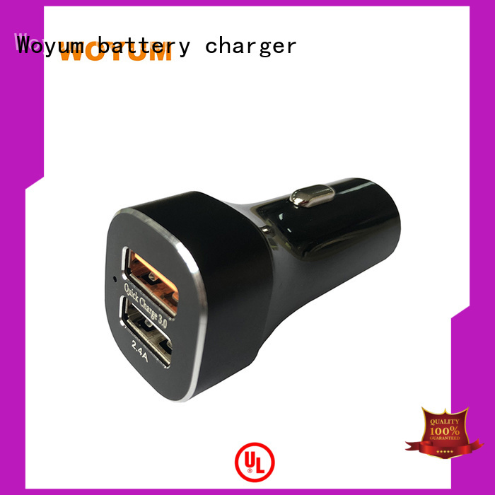 voice cell phone car charger lighter for Android Devices Woyum
