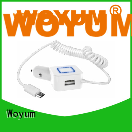 Woyum Wholesale multi port usb car charger Supply for Android devices