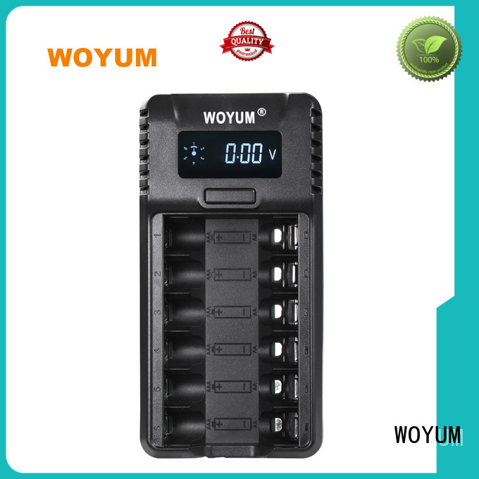 Woyum security smart battery charger manufacturer for Li-ion