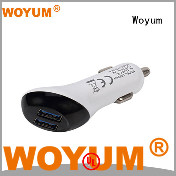 outlet holder adapter OEM usb car charger Woyum