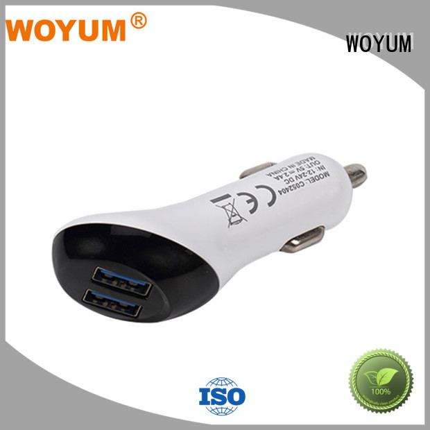 splitter dc usb car charger navigation android Woyum company