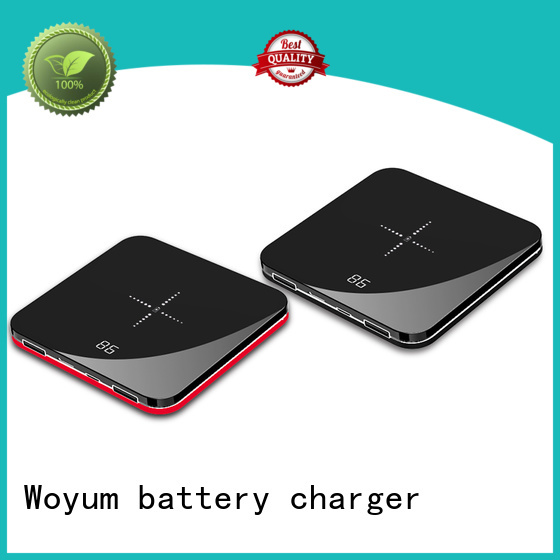 Woyum bamboo wireless charger manufacturer for Android