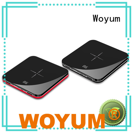 Woyum bamboo wireless charger Supply for iPhone